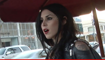 Kat Von D Death Threats -- Cops on the Hunt For Man Who Says He'll 'Go Columbine'