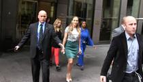 Jennifer Lopez -- It Takes an Army ... To Walk 30 Feet