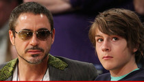 Robert Downey Jr.'s Son Arrested for Drugs -- Cocaine Possession (UPDATE)