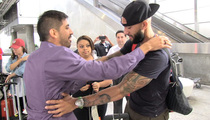 Tim Howard -- ANOTHER AMAZING BLOCK ... When Fan Gets Too Close
