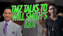 Will Smith's Son Trey Smith -- Little Willie Style ... Woo, Ha Ha!