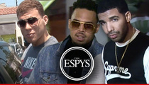 Chris Brown -- I'm Gonna Get Up in Drake's Grill at the ESPYS