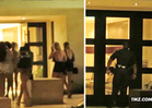 Justin Bieber House Party -- Guest List ... Two Cops, 10 Pieces of Ass