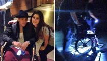 Justin Bieber -- I Don't Do Lines ... Wheelchairs it at Disneyland