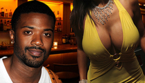Ray J -- Rung Up for Alleged Touching of Tatas