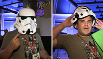 Jack Black -- Can't Hide Identity At Comic-Con ... Blames His Gut