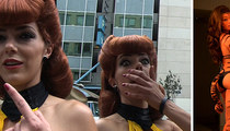 Comic-Con -- Adrianne Curry Begs Nerds … Don't Be Pervs!