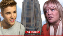 Justin Bieber to Candy Spelling -- I'm Movin' Your Way ... Can I Use Your Pool?