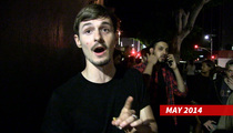 Giles Matthey -- Kiefer Drank Hard During Filming Of '24'