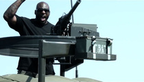 NFL Star Brandon Jacobs -- My 1st Action Movie ... With Fight Scenes & Gun Battle!!