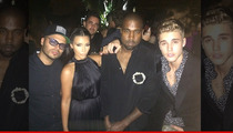 Justin Bieber -- Styling and Profiling With Kim Kardashian and Kanye ... ORLANDO BLOOM DENIED!