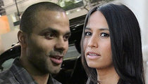 Tony Parker -- Says 'I Do' Twice in One Weekend