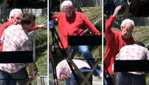 Bob Barker -- 'Bold and the Beautiful' Star Gets 'Happy Gilmore' Treatment