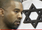Kanye West -- Grilled About Hating Paparazzi More than Nazis