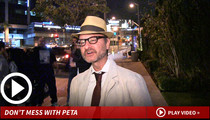 Fisher Stevens -- Grand Canyon Squirrel Kicker Can't Hide
