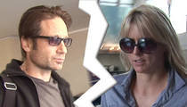 David Duchovny, Tea Leoni Quitely Divorced