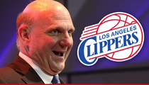 Los Angeles Clippers -- Sale Official -- It's Steve Ballmer's Team