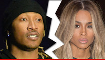 Future and Ciara -- Broken Up ... She Takes the Kid
