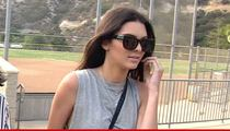 Kendall Jenner -- Threatens To Sue Waitress Over Inadvertent Dine and Dash