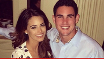 KC Chiefs Aaron Murray -- The Pressure's On ... GF Ditches TV Gig for Him