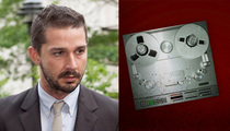"""Shia LaBeouf -- Calls 911 -- There's a Strange Chick """"In My House!"""""""