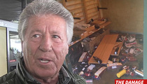 Mario Andretti -- NAPA WINERY REOPENS ... After Earthquake Wreaks Havoc