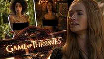 Game of Thrones -- Lena Headey's Boobs Dissed by Church Leaders
