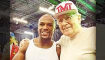 Floyd Mayweather -- Warren Buffett Joins 'The Money Team!'