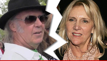Neil Young -- Divorcing After 35 Years ... Split on Money, United About Son