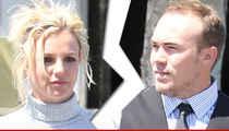 Britney Spears -- Breaks Up with BF David Lucado After Video Surfaces of Him Cheating