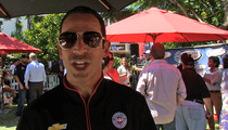 Helio Castroneves -- NO CHUBBY DRIVERS IN INDY ... 'Only NASCAR'