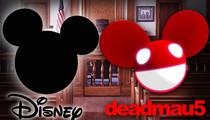 Deadmau5 -- Of Mice Against Men ... Disney Fights DJ Over Ears Logo