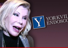 Joan Rivers -- Health Dept. Launches 'Review' of Clinic