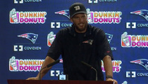 Tom Brady -- Bizarre Reaction ... to Wes Welker Drugs Allegations