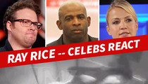 Ray Rice -- Furious Celeb Reactions To Elevator Video