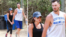 Lea Michele -- Shacking Up With Ex-Gigolo Boyfriend