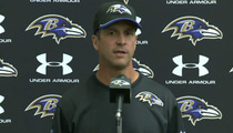 Ravens Coach John Harbaugh -- Video Was Game-Changer ... We Had to Fire Him