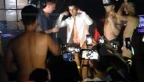 Nick Jonas Strips Some in Gay Bar