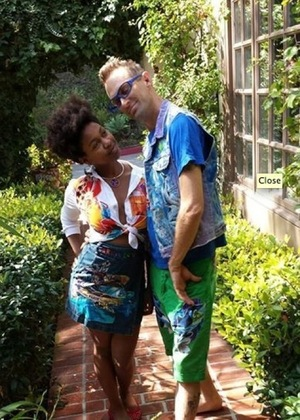 Daniele Watts & Brian Lucas -- Together Photos