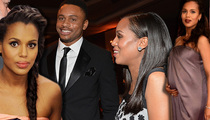 Kerry Washington -- Hiding in Plain Sight with Baby & Husband