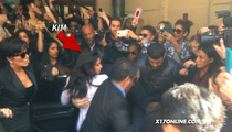 Kim Kardashian TACKLED At Paris Fashion Week Event (CRAZY VIDEO)