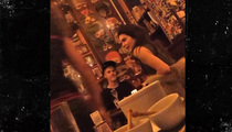 Justin Bieber and Kendall Jenner -- Romantic Dinner In Gay Paree