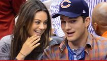 Mila Kunis & Ashton Kutcher -- Dude, Here's Our Baby!