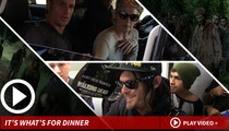 'Walking Dead' Stars -- Let's Talk Cannibalism!