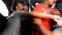 Antoine Dodson -- WORST. PUNCH. EVER. ... Attacks Man At Boxing Event