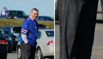Terry Pegula -- My First Game as Bills Owner ... With Matching Nikes!