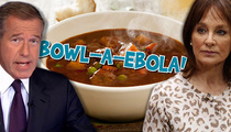 Dr. Nancy Snyderman -- Ebola Be Damned ... Good Soup Is Hard to Find