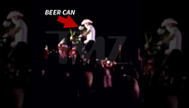 Country Singer Dustin Lynch -- Hit in the Face With Beer Can (VIDEO)