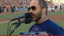 Aaron Lewis -- Sorry I F'ed Up The National Anthem