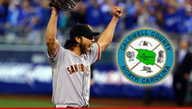 Madison Bumgarner -- Hometown to Declare 'Madison Bumgarner Day'